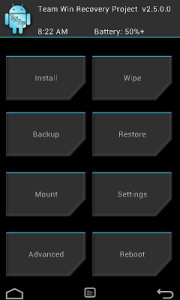 TWRP Sprint HTC One