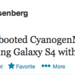 CyanogenMod AT&T Samsung Galaxy S4