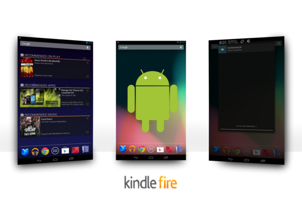 Android 4 3 Ported to First Generation Kindle Fire