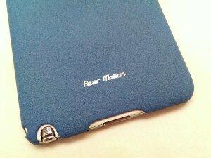 Bear Motion Premium Slim Back Cover Case - Sand