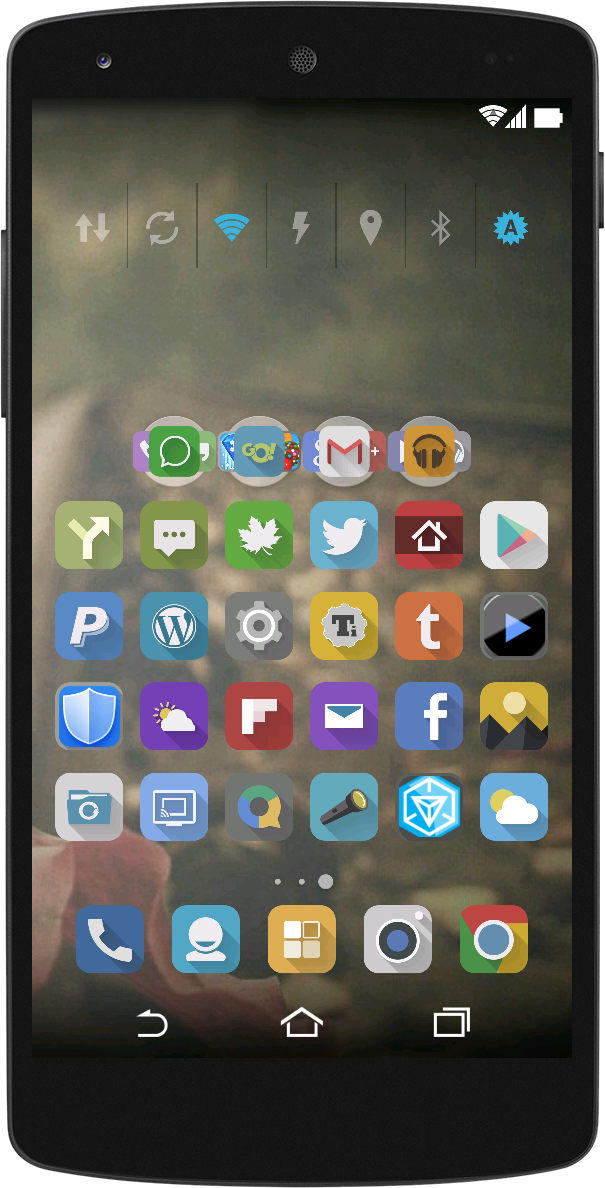 how to change icons in nova launcher