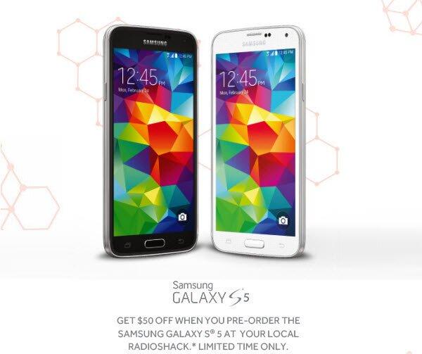 Radioshack-Galaxy-S5-preorder