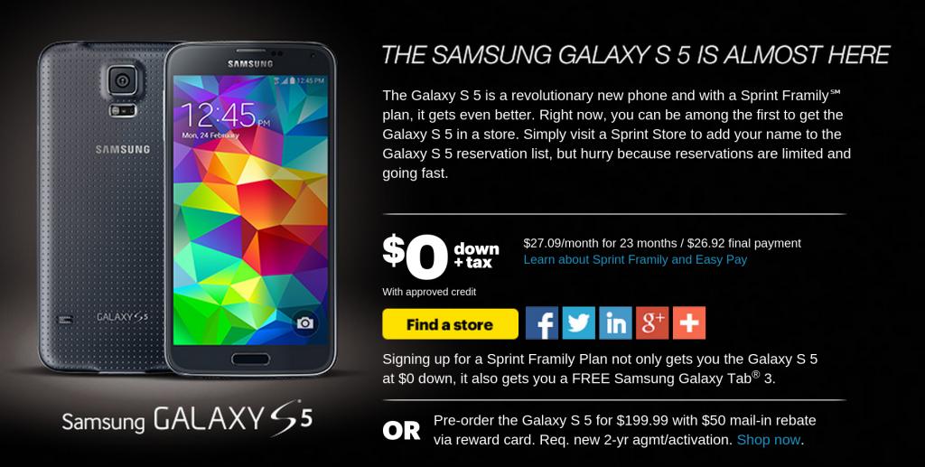 sprint-galaxy-s5-preorder