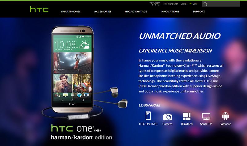 Sprint HTC One M8 Harman Kardon
