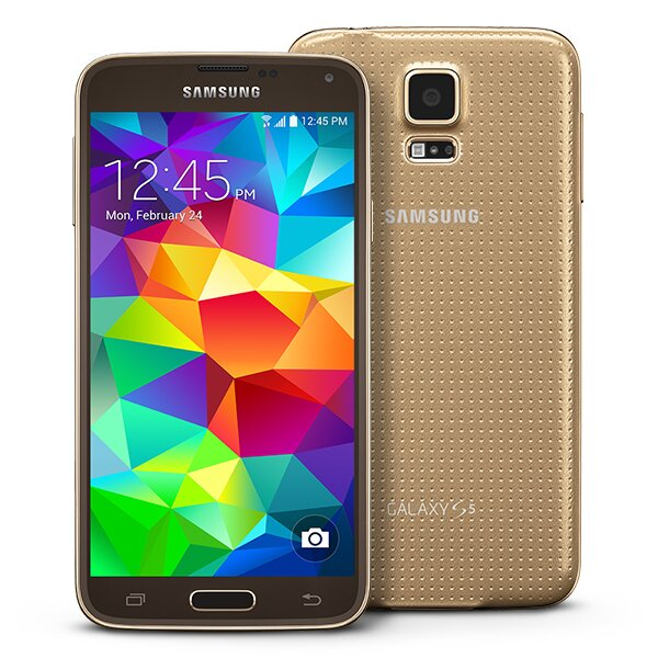 Gold Samsung Galaxy S5