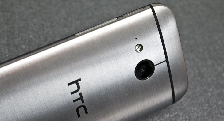 HTC One mini 2 close up